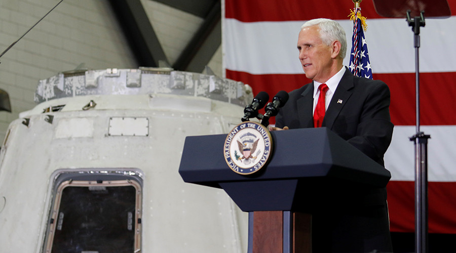 'We were going to clean it anyway': NASA jokes with Mike Pence over Orion faux pas