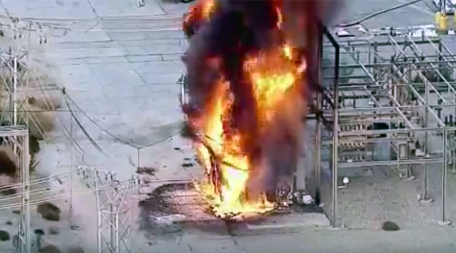 LA plant explosion sparks widespread power outages (VIDEOS)