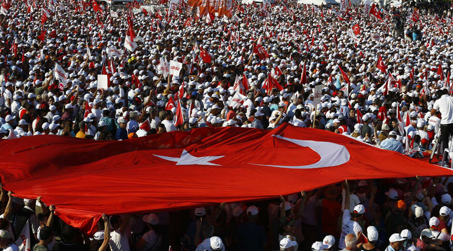 '100s of thousands' rally in Istanbul ending 25-day march of Turkish opposition leader (VIDEO)