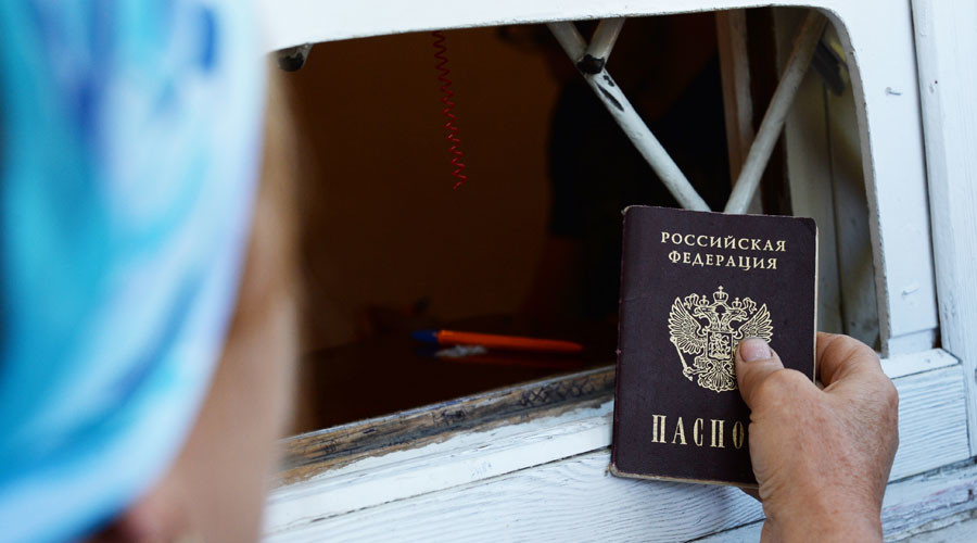 'Denaturalization oath' proposed for wannabe Russian citizens from Ukraine
