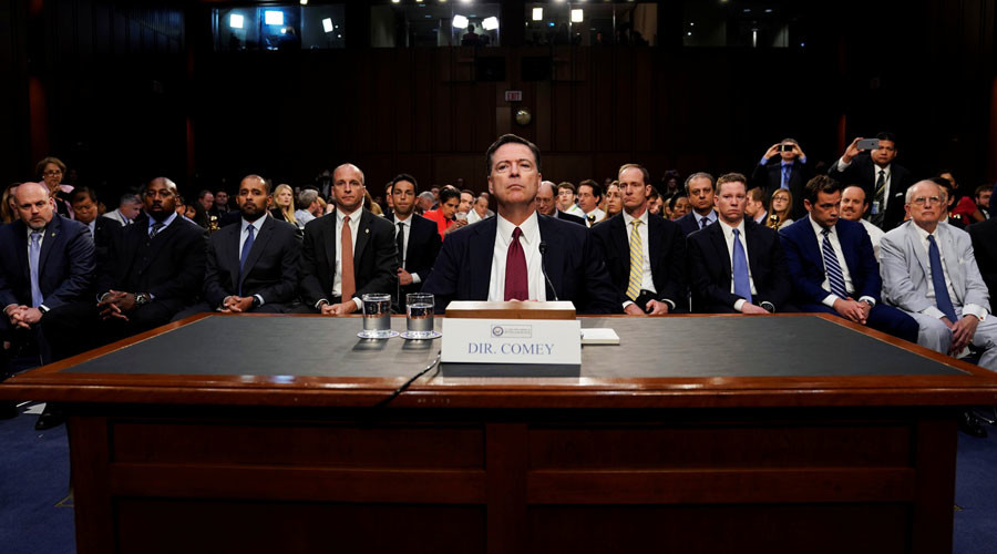 Some Comey memos were classified, all were against FBI rules – report