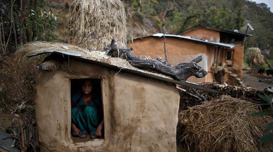 Snake bite kills teen banished to 'menstruation hut'