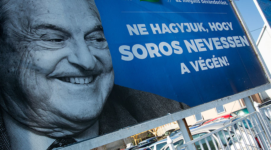 Israel backs Hungary's anti-Soros campaign, saying financier 'continually undermines Jewish State'