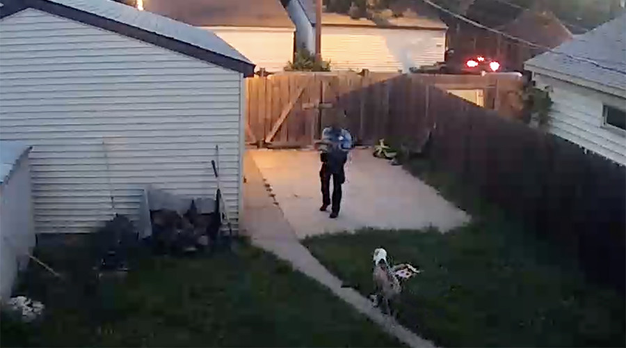 Minneapolis cop shoots 2 service dogs in backyard of suburban home (GRAPHIC VIDEO)
