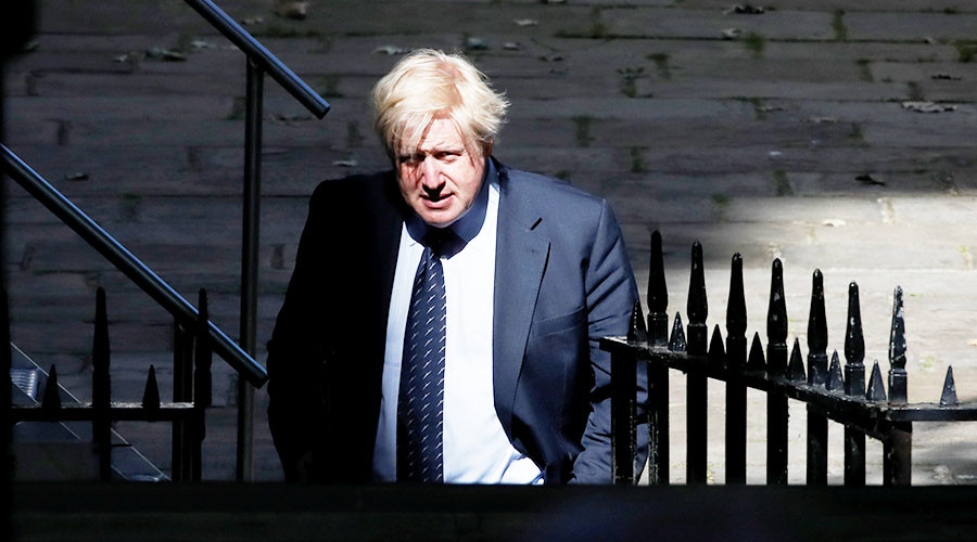 Boris Johnson tells EU to 'go whistle' over €100bn Brexit divorce demand (VIDEO)
