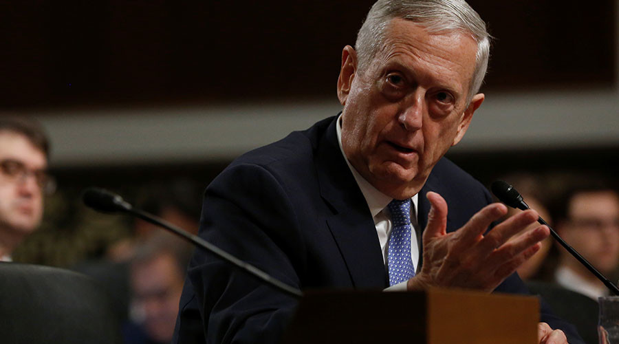Schoolboy interviews Defense Secretary Mattis after spying phone number in photo