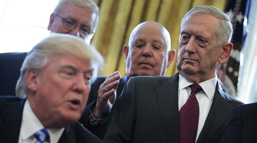 While Trump talks, the Pentagon balks