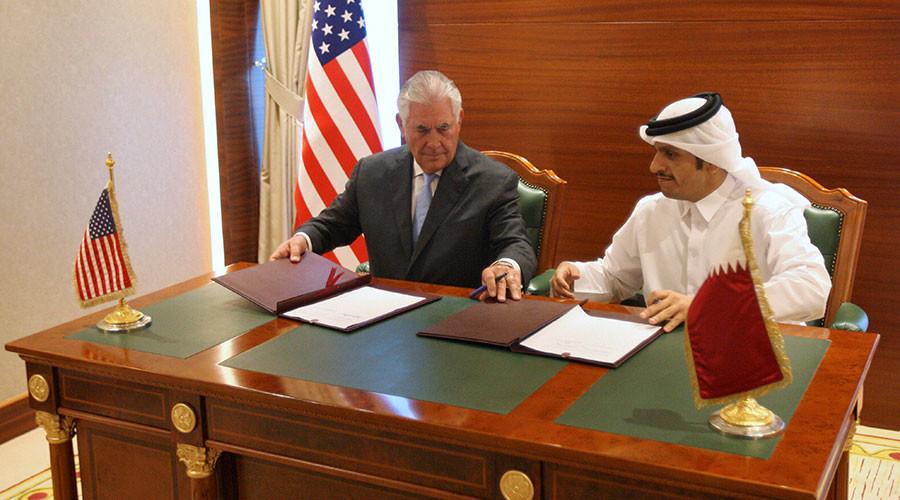 US & Qatar sign agreement to step up Doha's counterterrorism efforts