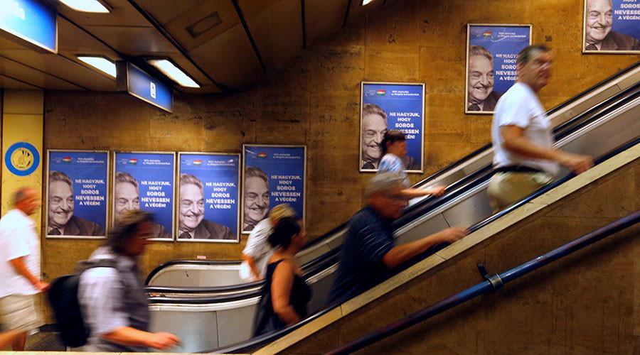 'Europe's darkest hours': Soros spokesman bashes Orban's anti-migration campaign billboards