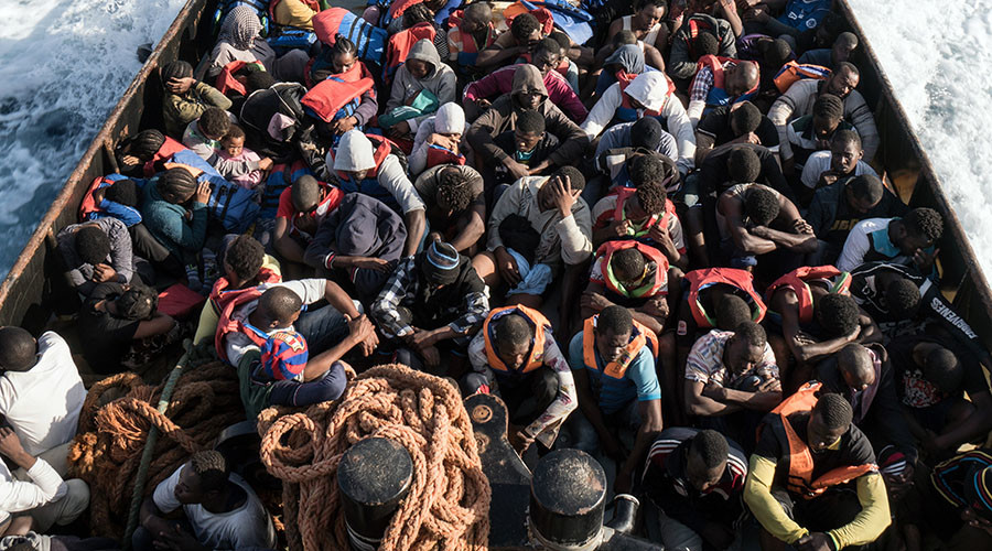 'Defend Europe': Far-right activists launch mission to rescue, send back illegals from Libya