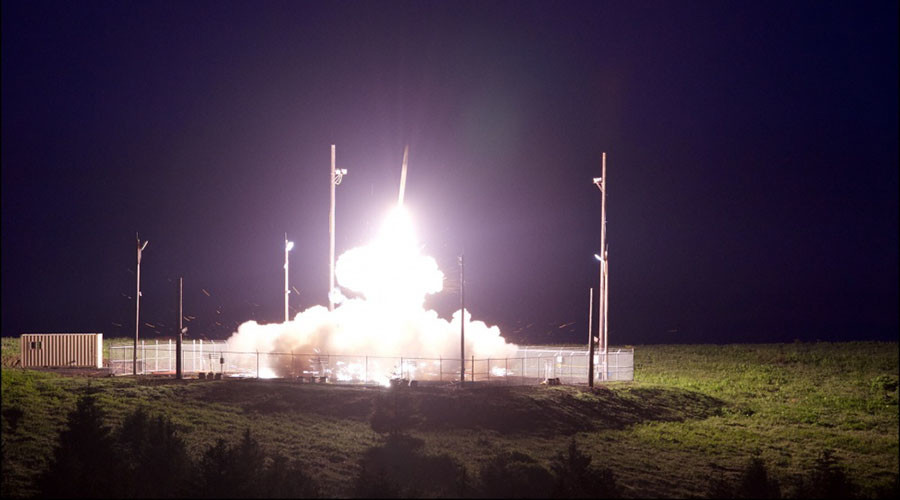 First images of US Missile Defense Agency's THAAD test (PHOTO, VIDEO)