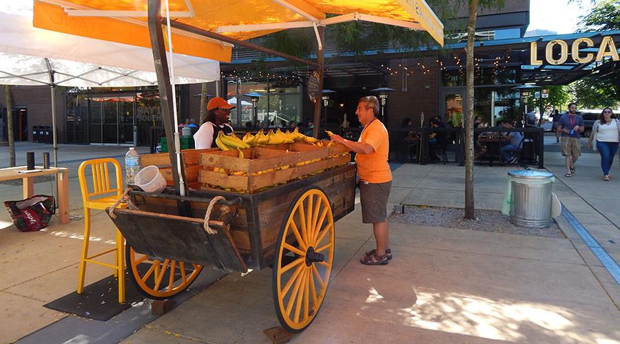 'One banana, two bananas': Amazon's latest market disruptor is free fruit