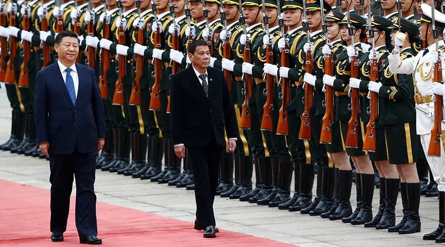 Philippines wants less confrontation in favor of more trade with China