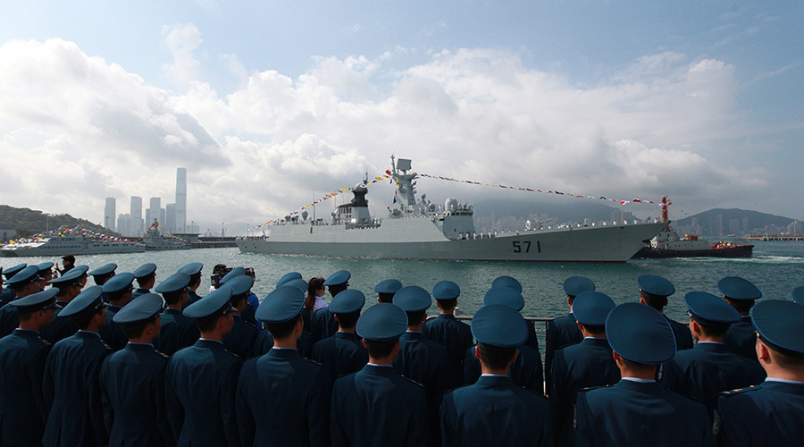 Chinese Navy holds live-fire training in Mediterranean en route to joint drills with Russia