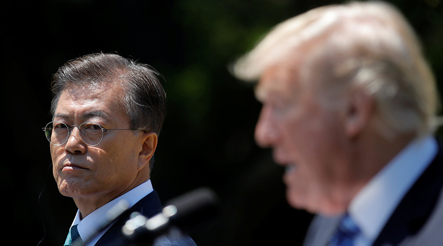 Trump wants to renegotiate 'horrible' trade deal with South Korea