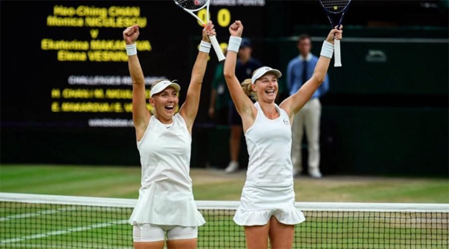 Makarova & Vesnina claim Wimbledon doubles title