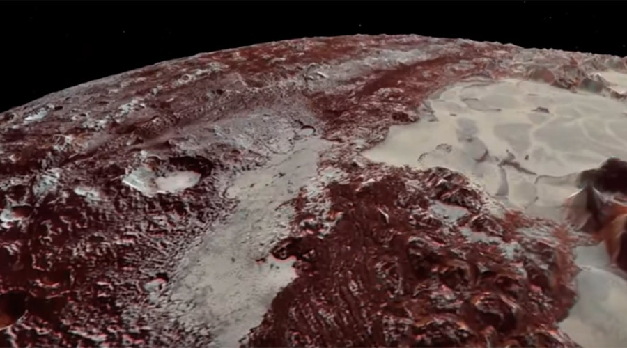 NASA celebrates anniversary of Pluto mission with stunning flyover movie (VIDEO)
