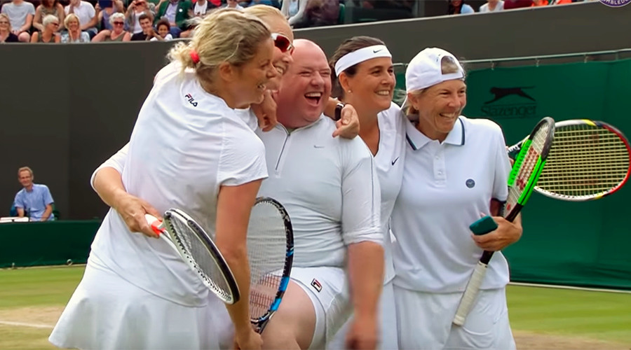 Tennis star Clijsters invites heckler on court at Wimbledon (VIDEO)