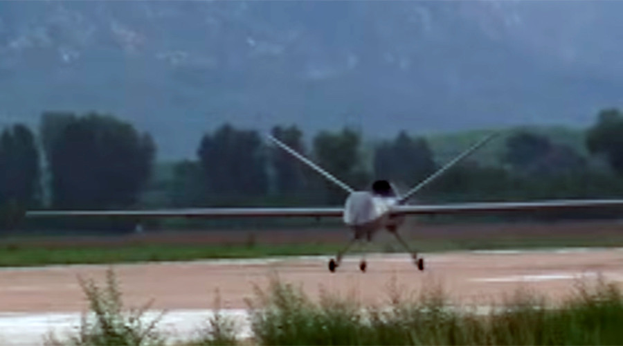 Chinese new military drone performs trial flight (VIDEOS)