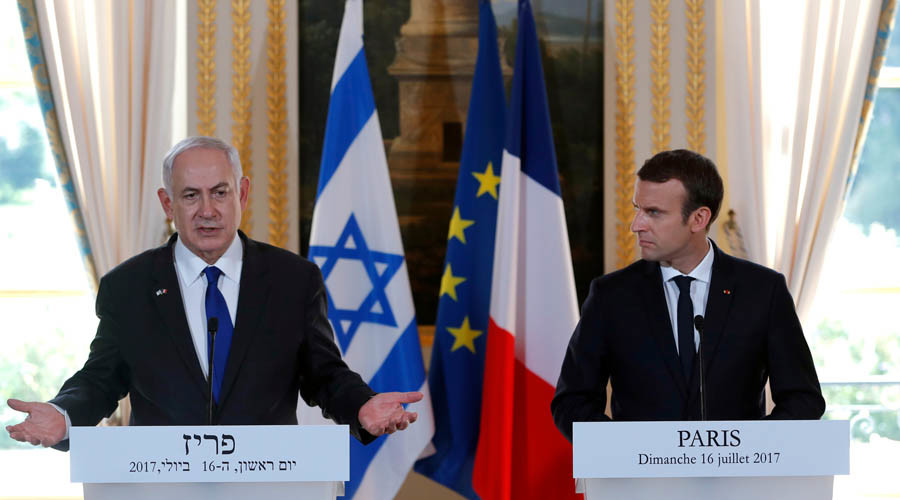 'We deported French Jews, not the Germans': Macron slams anti-Zionism