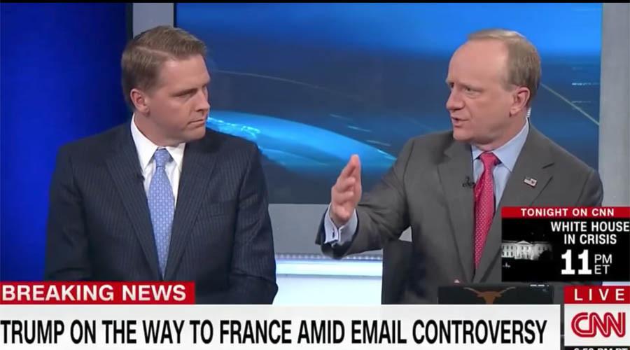 Clinton ally has 'bright' idea on CNN: Trump should bomb Russia!
