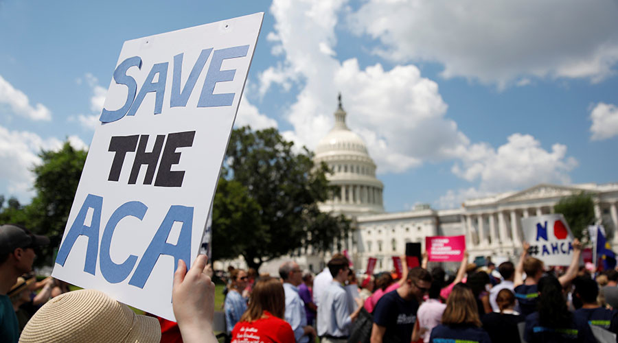 It takes two: Senate plans to separate Obamacare repeal bill from replacement