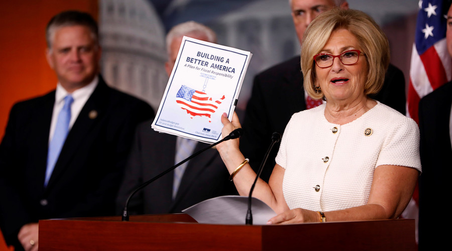 House GOP unveils $1.1tn budget with major cuts, tax reforms & increased defense spending