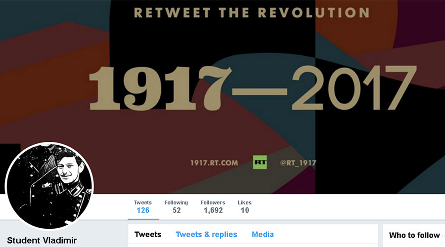 'You will be avenged, comrade!' Sudden death of Russian Revolution blogger shocks #1917LIVE universe
