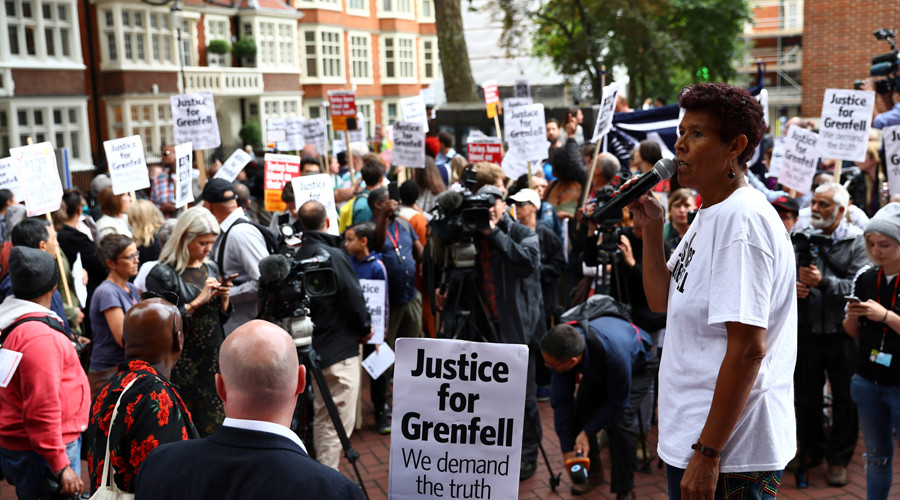 Grenfell fire survivors demand resignation of new Kensington Council chief