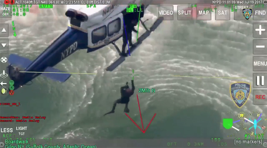 Special ops helicopter rescue of WWE co-owner captured on camera (VIDEO)
