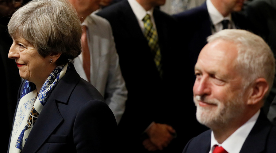 Corbyn more popular than May for 1st time, polls show