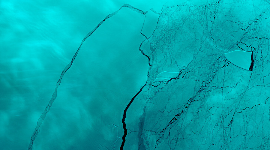 New crack found in Antarctica ice shelf after 1 trillion ton iceberg breaks free