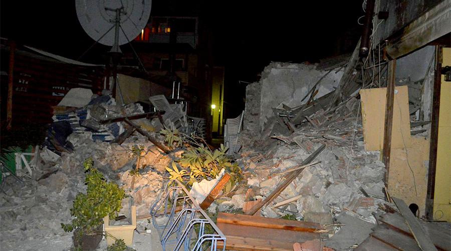 2 fatalities, flooding from tsunami after powerful quake in Mediterranean Sea (PHOTOS, VIDEOS)