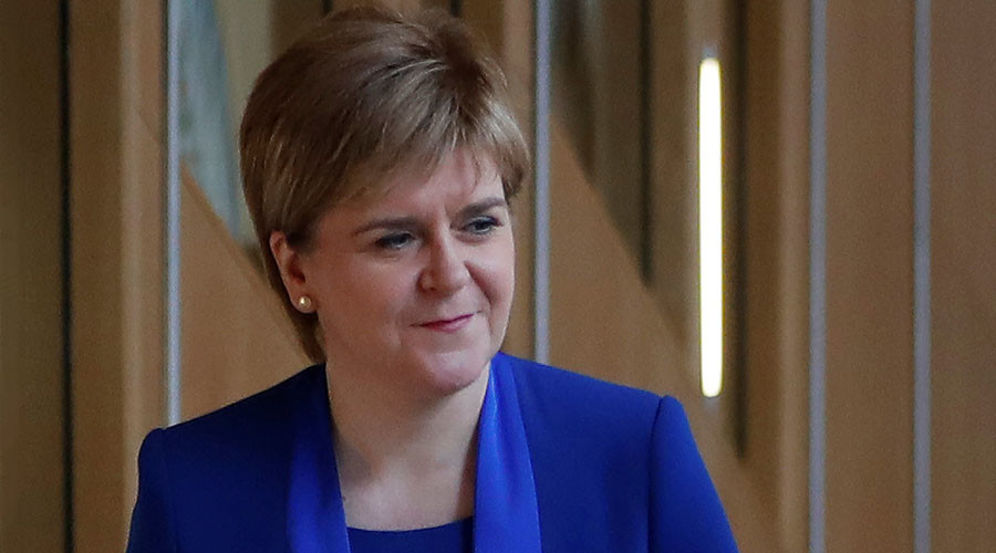 No. 10 shuts down access to PM May for Scottish leader Sturgeon