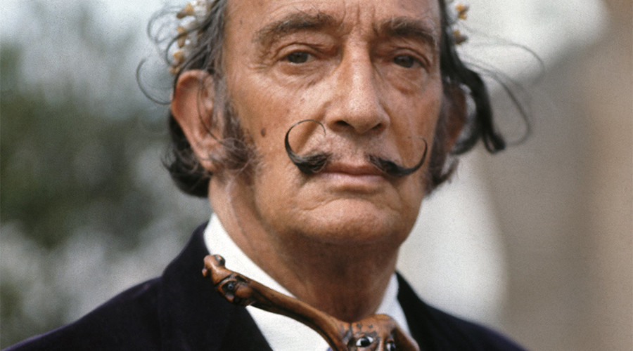 Dali's mustache intact after 28 years in a tomb – embalmer