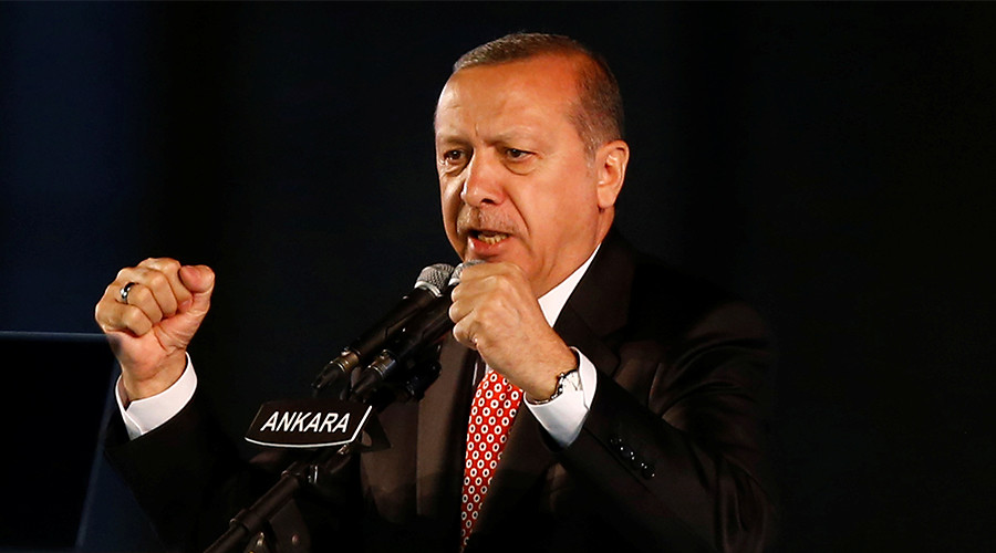 Erdogan tells Germany to 'pull itself together' as rift deepens