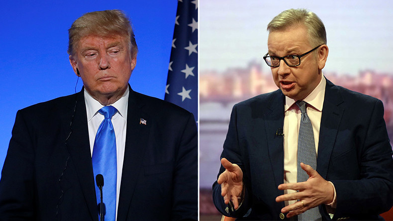 Michael Gove slams Donald Trump over climate change stance