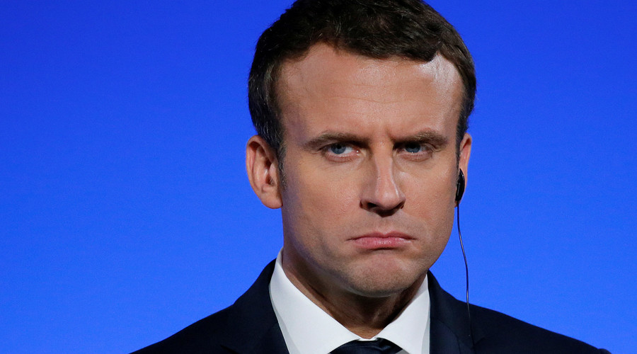 French President Macron's popularity drops 10 percent in 3 months – poll
