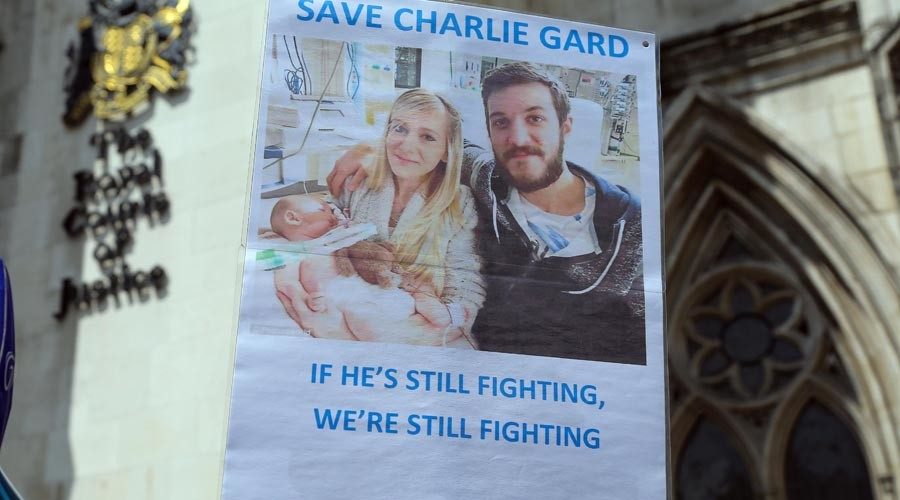 Charlie Gard: Police probe death threats against London hospital staff