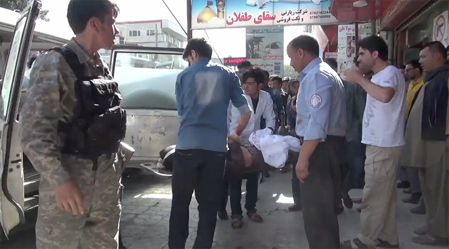 Dozens dead and injured after massive blast rocks Kabul (VIDEO, PHOTOS)