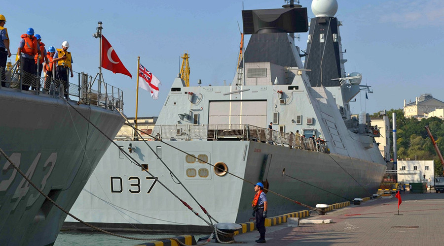 British, Turkish warships arrive in Ukraine for NATO Black Sea drills (PHOTOS)