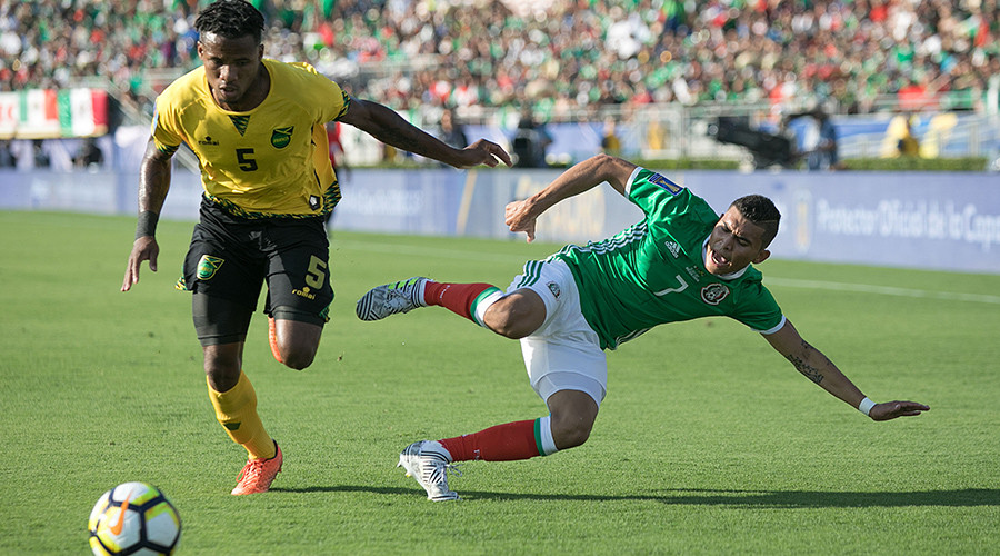 Jamaica beat Mexico to face United States of America in Gold Cup final