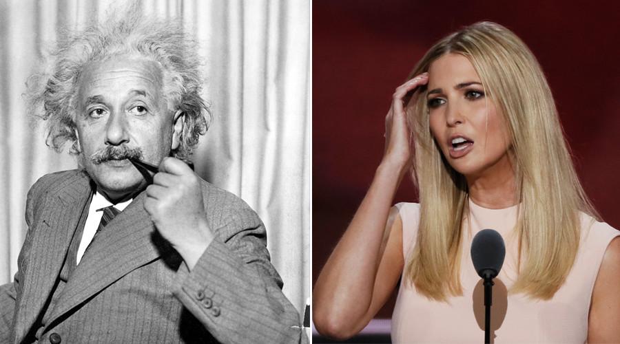 Alternative facts: Ivanka Trump called out by Einstein estate for misquote