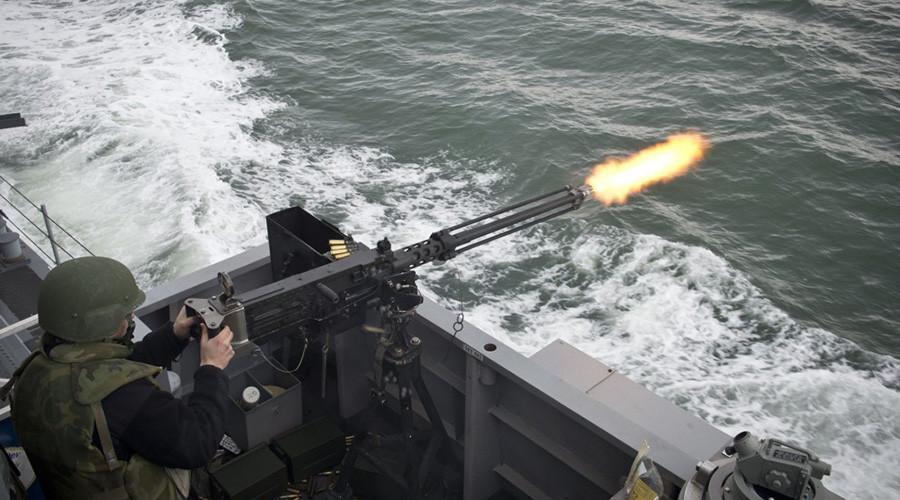 US ship fires warning shots at Iranians in Persian Gulf