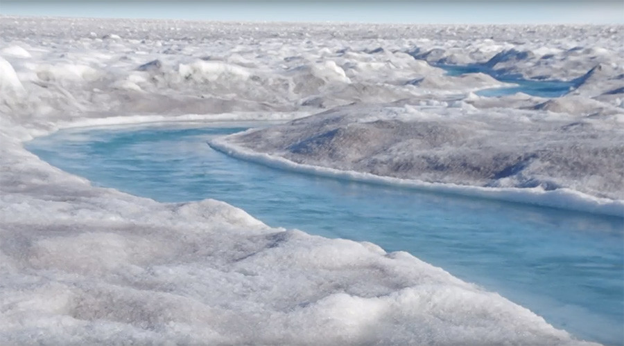 'Millions in coastal communities' threatened by algae growth on Greenland Ice Sheet