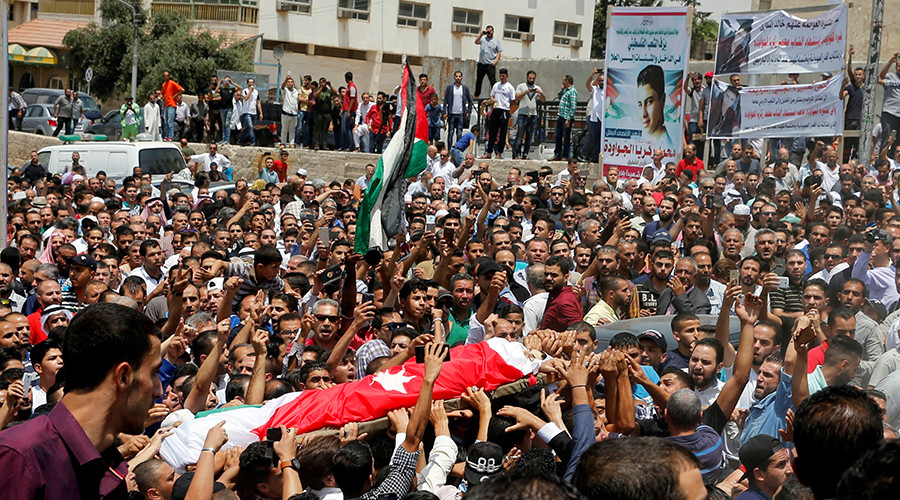Israel cites self-defense in Amman embassy shooting