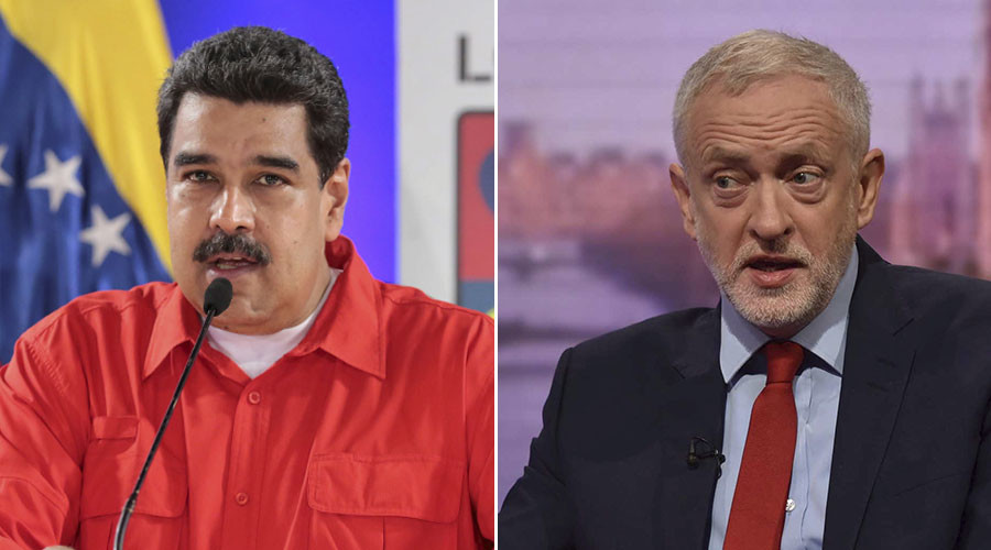 Corbyn told Venezuelan President Maduro that EU is 'bad for the poor'
