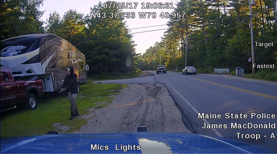 Machete-wielding clown arrested by Maine police (PHOTOS)