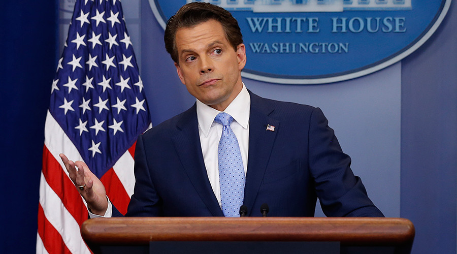 The fish stinks from head down, except for me & the president – Scaramucci