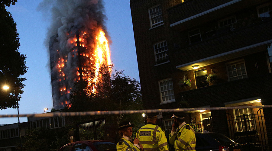 'Reasonable grounds' to suspect Grenfell tower fire was corporate manslaughter – London police